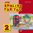 New English for You 2 audio CD
