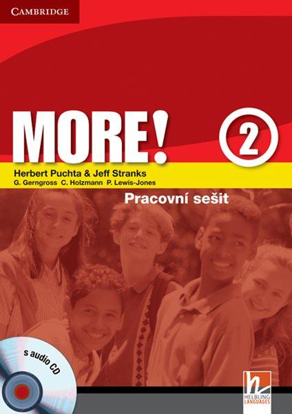 More! 2 - pracovní sešit + audio CD - Puchta H., Stranks J. - A4, brožovaná