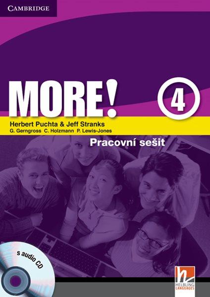 More! 4 - pracovní sešit + audio CD - Puchta H., Stranks J. - A4, brožovaná