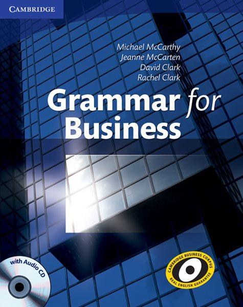 Grammar for Business + audio CD - McCarthy M., McCarten J., Clark D. - 220x276 mm, brožovaná