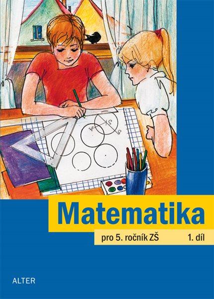Matematika 5.r. 1.díl - Justová Jaroslava - 165x229 mm, sešitová