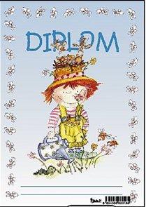 Diplom A5 - Kluk s konvičkou