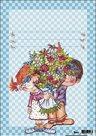 List A4 - Děti s kyticí