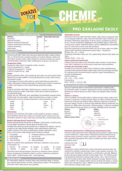 Klett nakladatelství s.r.o. Chemie pod lavicí pro ZŠ - A4, lamino, skládačka