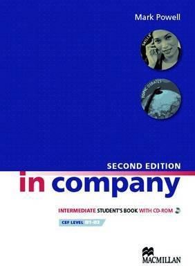 In Company Intermediate Students Book with CD-ROM Second Edition (učebnice) - Powell Mark - A4, brožovaná