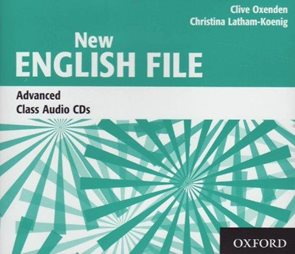 New English File advanced class audio CD /3 ks/