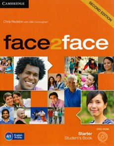 Face2face Starter 2. edice Students Book + DVD-ROM