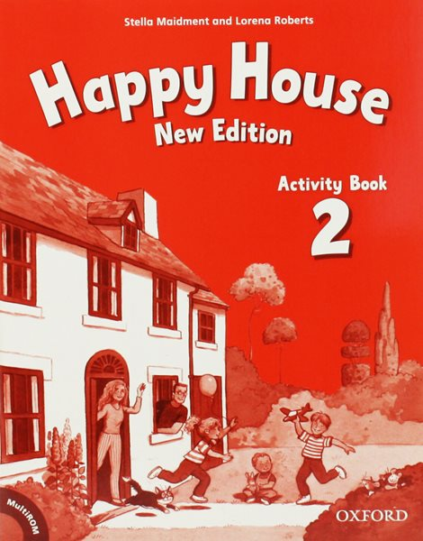 Happy House 2 NEW EDITION Activity Book + MultiROM CZ - Maidment S., Roberts L. - 220x279 mm, sešitová