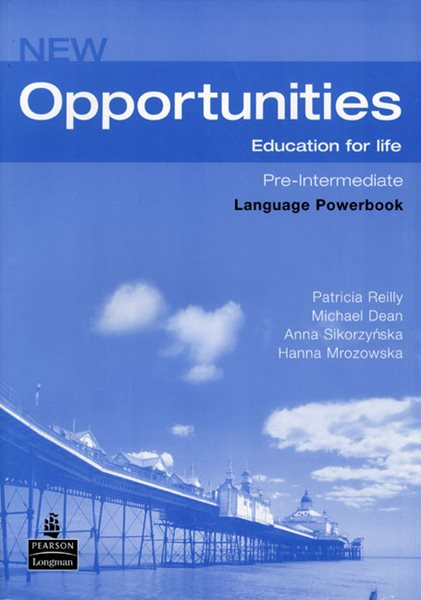 New Opportunities Pre-intermediate Language Powerbook + CD-ROM - Reilly P., Dean M. Sikozyńska A. - A4, brožovaná