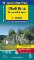 Okolí Brna - Moravský kras 1:50 000 - turistická mapa