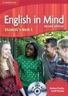 English in Mind 1 Second ED. Students Book + DVD