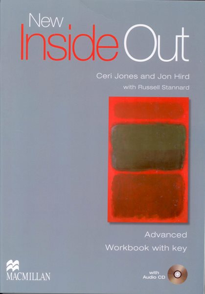New Inside Out Advanced Workbook + key - Jones C., Hird J. - A4, sešitová