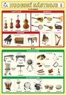 Hudební nástroje - lamino A5