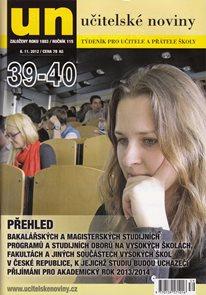 Učitelské noviny - SŠ 2012/13