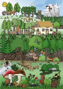 Les - tématický obraz