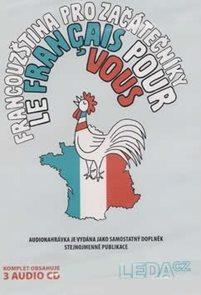 Francouzština pro začátečníky  - komplet 3 CD