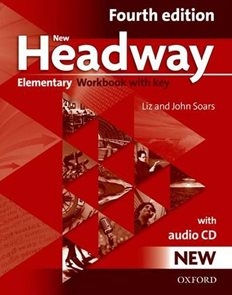 New Headway fourth Edition Elementary WB Pack With Key