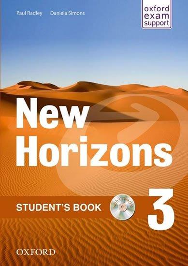New Horizons 3 Student´Book + CD ROM - RADLEY, P. - SIMONS, D.