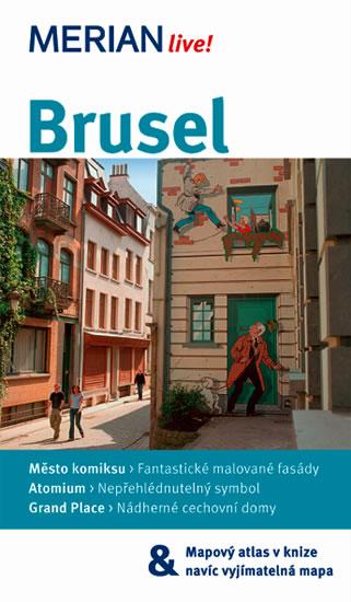 Brusel - průvodce Merian č.72 - 3.vydání /Belgie/ - Herl Michael, Rettermeierová Christine - 11x19 cm, Sleva 25%