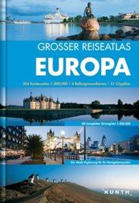 Evropa - atlas  Kunth 1:800 000 t.
