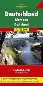 Německo - mapa Freytag - 1:700 000