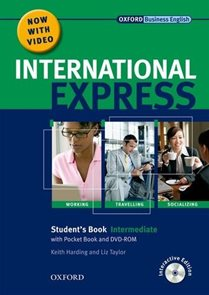 NEW INTERNATIONAL EXPRESS INTERMEDIATE STUDENT´S BOOK + POCKET BOOK + MultiROM + DVD PACK