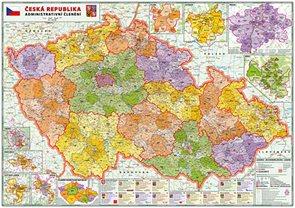 ČR 1:320 - administrativní mapa 160x114cm
