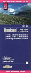 Finsko - mapa Reise Know-How 1:875 000.