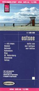 Baltské moře - pobřeží - mapa Reise Know-How 1:300 000.