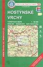 Hostýnské vrchy - mapa KČT č.94 - 1:50t