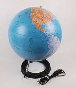 Globus - Full Circle - Political  World - 30cm  /Atmosphere/