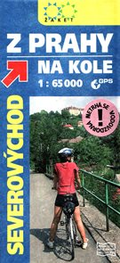 Z Prahy na kole -jihovýchod- cyklomapa Žaket - 1:65 000