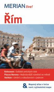 Řím - průvodce Merian č.18 - 5.vydání /Itálie/