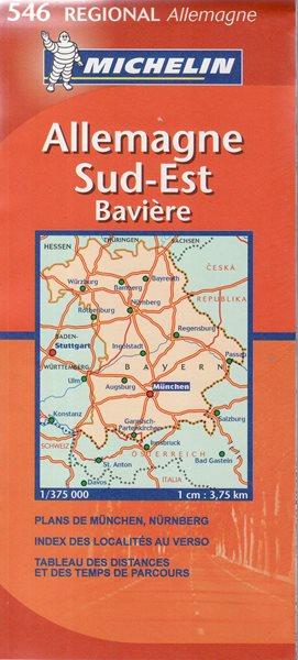 Německo -Mi546- Bavorsko - mapa 1:375t