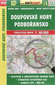 Doupovské hory, Podbořansko - mapa SHOCart č. 410 - 1:40 000