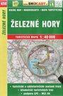 Železné hory - mapa SHOCart č. 430 - 1:40 000
