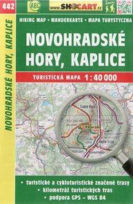 Novohradské hory, Kaplice - mapa SHOCart č. 442 - 1:40 000