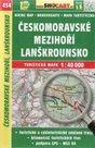 Českomoravské mezihoří, Lanškrounsko - mapa SHOCart č. 454 - 1:40 000