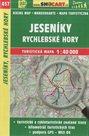Jeseníky, Rychlebské hory - mapa SHOCart č. 457 - 1:40 000