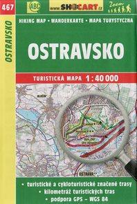 Ostravsko - mapa SHOCart č. 467 - 1:40 000