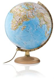 Globus - Gold classic  - Political  World - 30cm  /National Geographic/