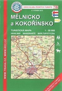 Mělnicko a Kokořínsko - mapa KČT č.16 - 1:50t