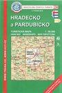 Hradecko a Pardubicko - mapa KČT č.24 - 1:50t