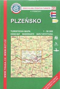 Plzeňsko - mapa KČT č.31 - 1:50t