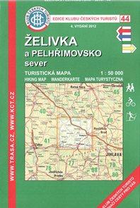 Želivka a Pelhřimovsko sever - mapa KČT č.44 - 1:50t