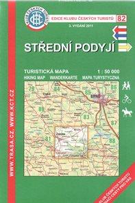Střední Podyjí - mapa KČT č.82 - 1:50t