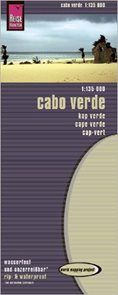 Cape Verde - mapa Reise Know-How 1:135 000
