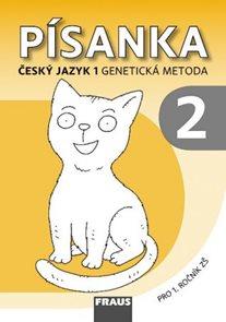 Písanka 2 pro Český jazyk 1. ročník - genetická metoda - vázané písmo