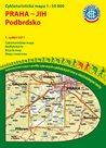 Praha - jih - Podbrdsko - cyklomapa Klub českých turistů 1:50 000 - 1. vydání 2011