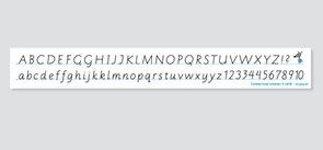 Záložka s abecedou 2. ročník ZŠ
